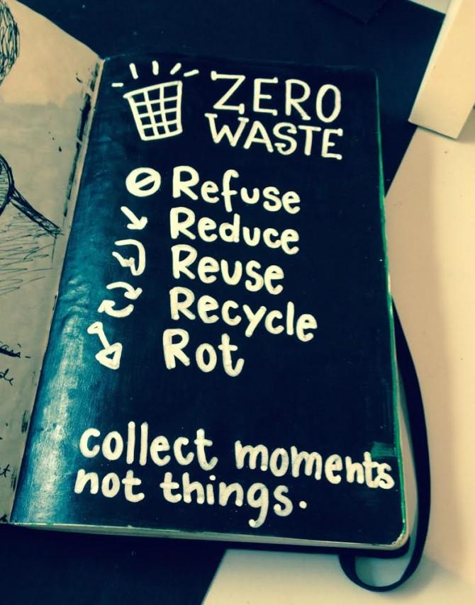 Les 5 principes du zéro déchet